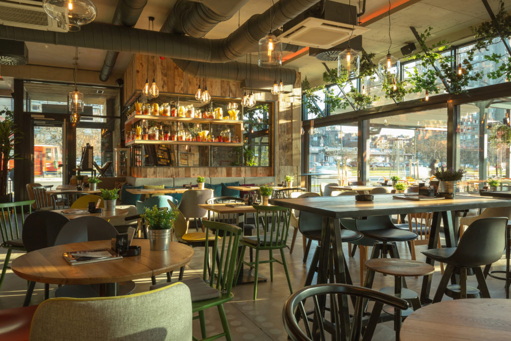 Blog de nachtmerrie die pinterest heet de architect for Restaurant interior design app