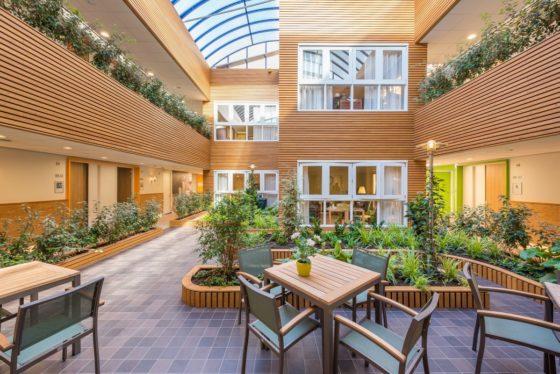 Herontwikkeling verpleeghuis St. Elisabeth Amersfoort – Ebbens architecten in co-creatie met FLint interieurarchitecten