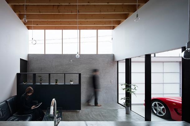 Garage in huis 5