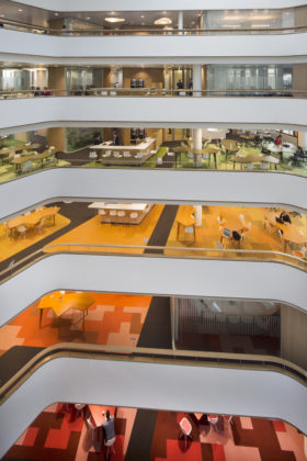Akzonobel center art space op de zuidas door groupa 4 280x420