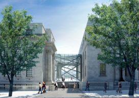 Octatube ontwerpt glazen entree in historisch Londen