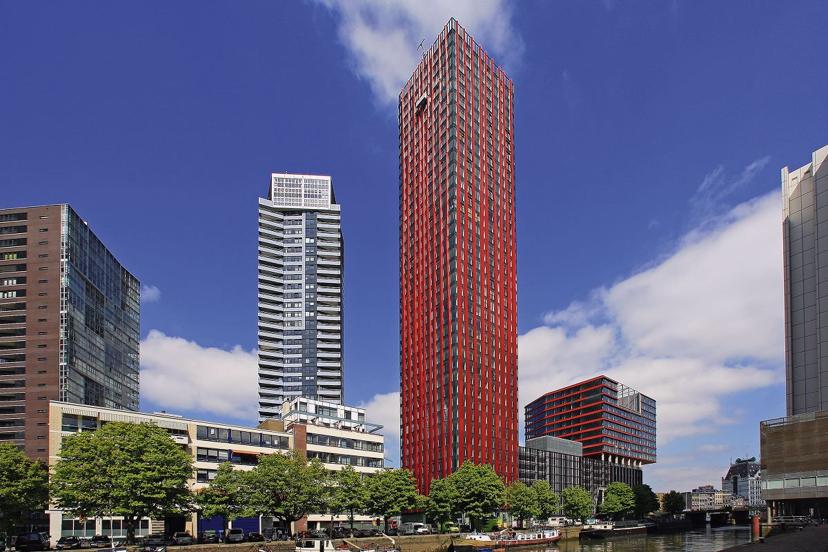 The red apple in rotterdam door kcap architects planners for Meubilair rotterdam
