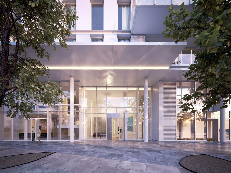 Richard Meier Mixed used gebouw Hamburg _ HQ Engel & Volker_appartementencomplex