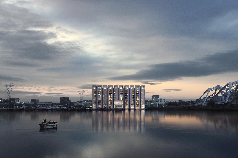 Waterwerk_Neutelings Riedijk Architecten_Render Ster van de Week