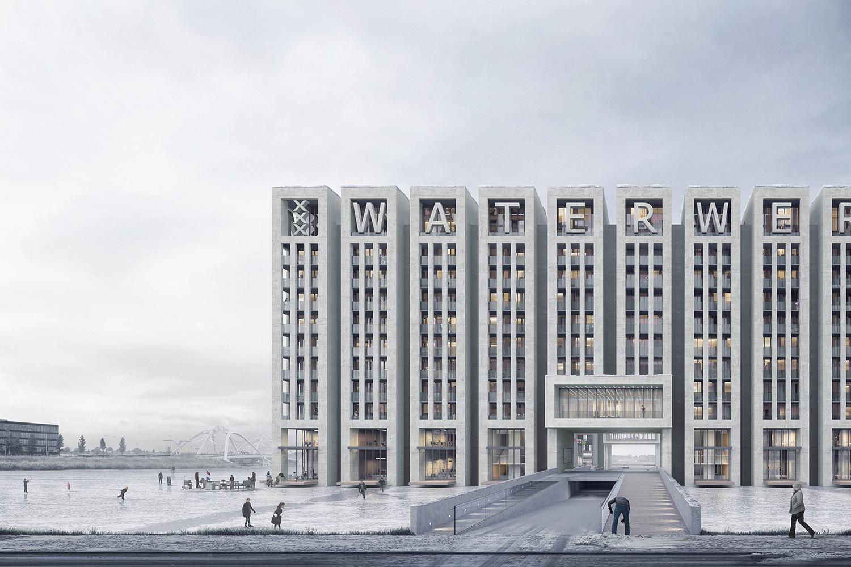 Waterwerk - Neutelings Riedijk Architecten - Render Ster van de Week