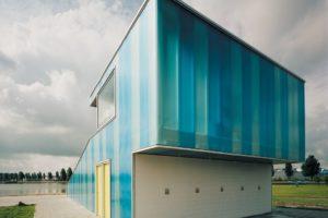 Servicepaviljoen Kardinge in Groningen door MAD Moehrleinvandelft architekten