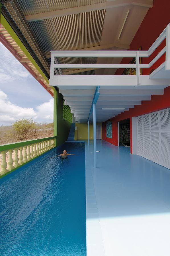 Carel Weeber - Woonhuis op Curacao