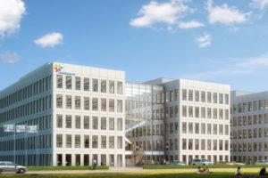 Hoogste punt Innovation Centre FrieslandCampina
