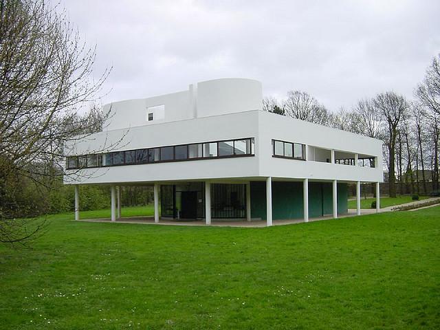 Villa Savoye door Le Corbusier