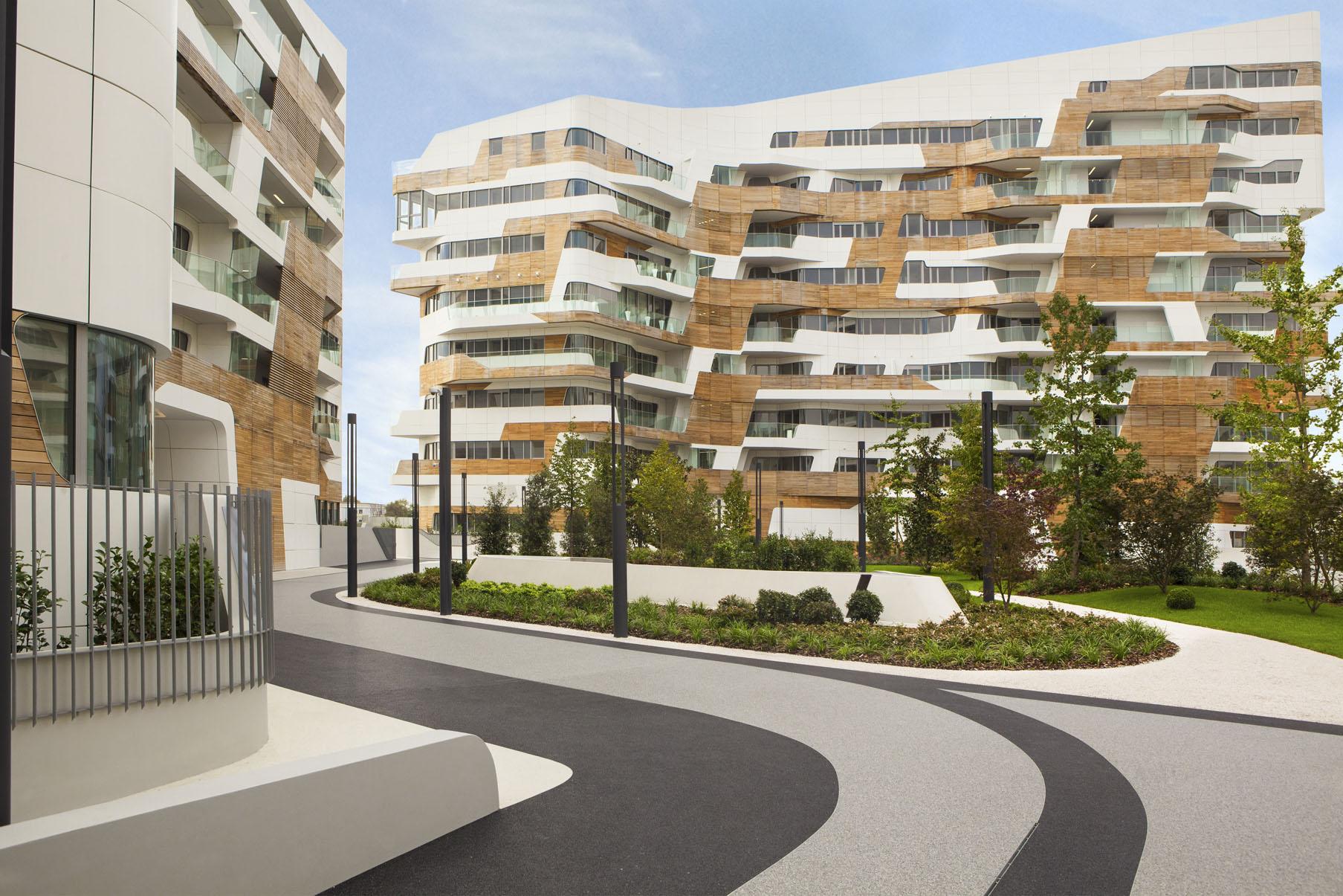 Appartementen Milaan Zaha Hadid
