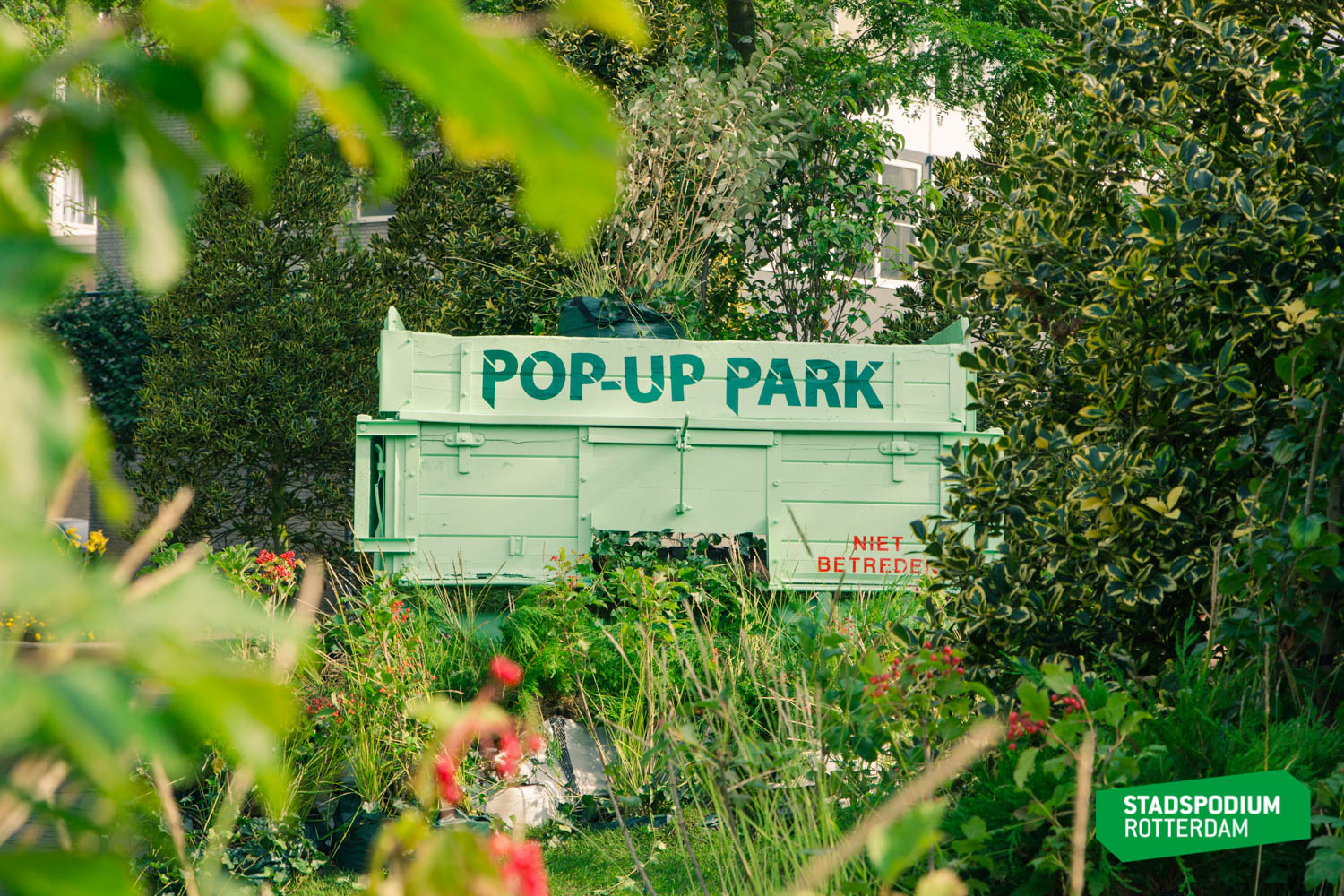 Pop Up Park Rotterdam, fotograaf Ijzerman Media