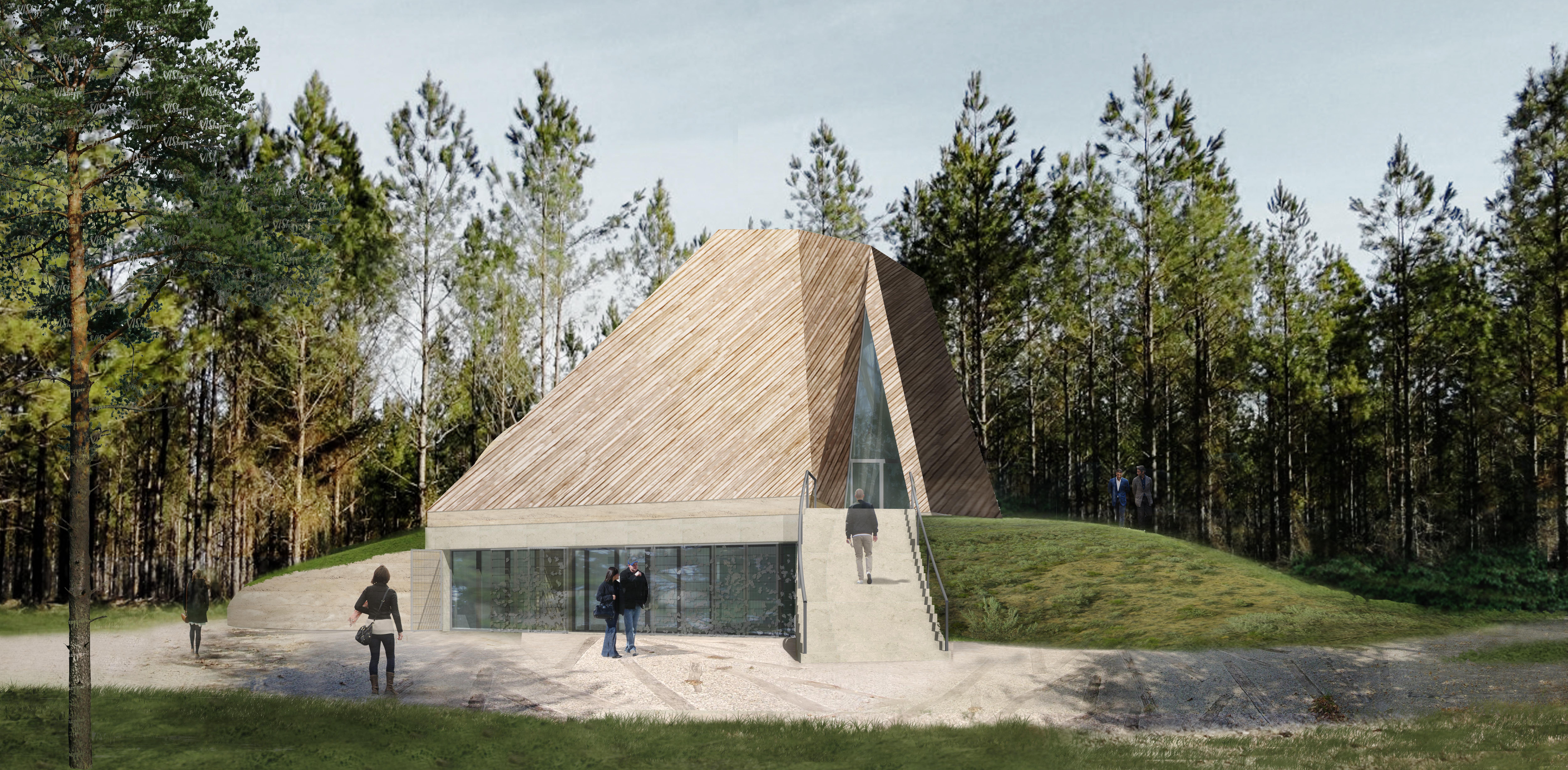 Natuurbegraafplaats de Utrecht door Architecten en en