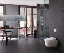 Geberit AquaClean Sela douchewc, naar ontwerp van Matteo Thun
