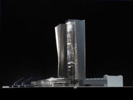 Bouw ECB in Frankfurt gaat beginnen
