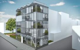 Houtskelet kaswoning voor en door architect en constructeur