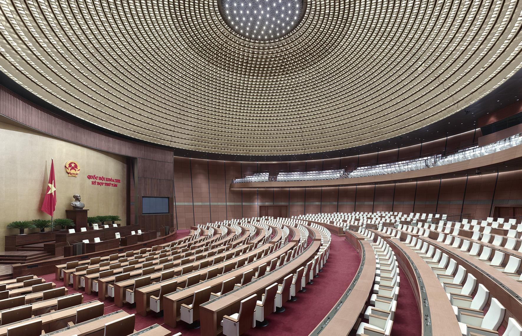 Nationale Assemblee Hanoi, Vietnam door gmp