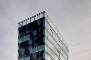The V Tower in Eindhoven door Wiel Arets