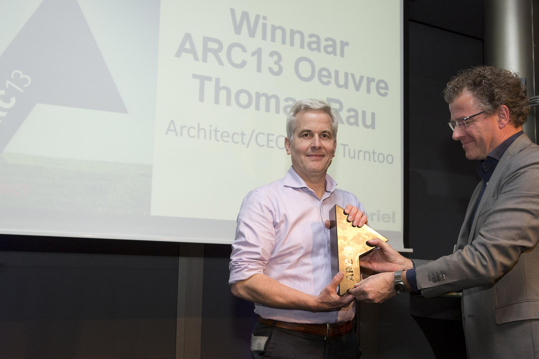 ARC13 Oeuvre naar Thomas Rau