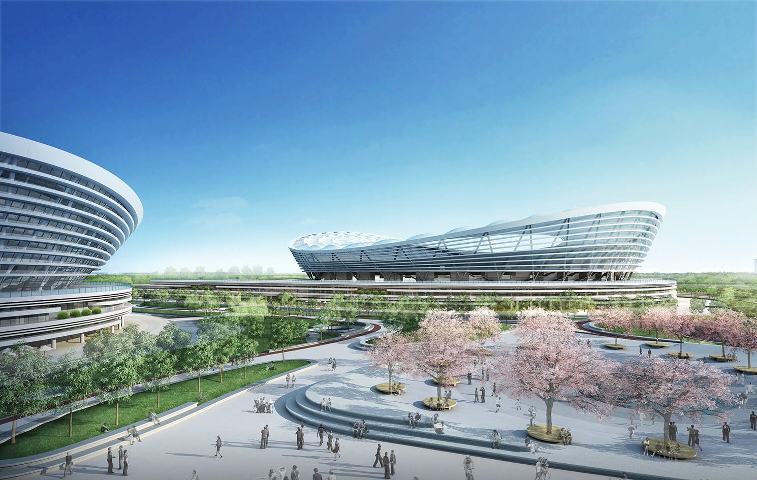gmp sportspark Suzhou_Render Ster van de Week