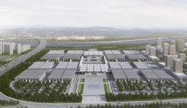 gmp ontwerpt tentoonstellingscentrum Tianjin China