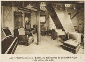 Blog – Het geheime appartement bovenin de Eiffeltoren