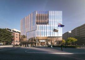 Nieuwe Australische Ambassade in Washington van Bates Smart