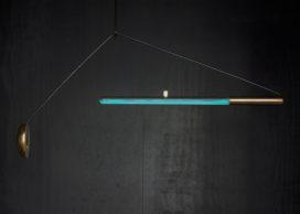 Design van de Week: bacteriën verlichten lamp 'Ambio'