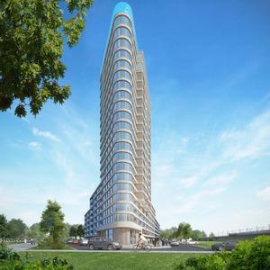 Amstelkwartier Hoogbouw Amsterdam door ZZDP Architecten
