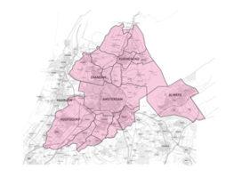 Minder sociale woningen verhuurd in Amsterdam