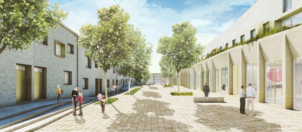 City Campus Anderlecht door Crepain Binst en ORG en VK Architects