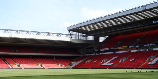 Anfield Road Liverpool Stadion