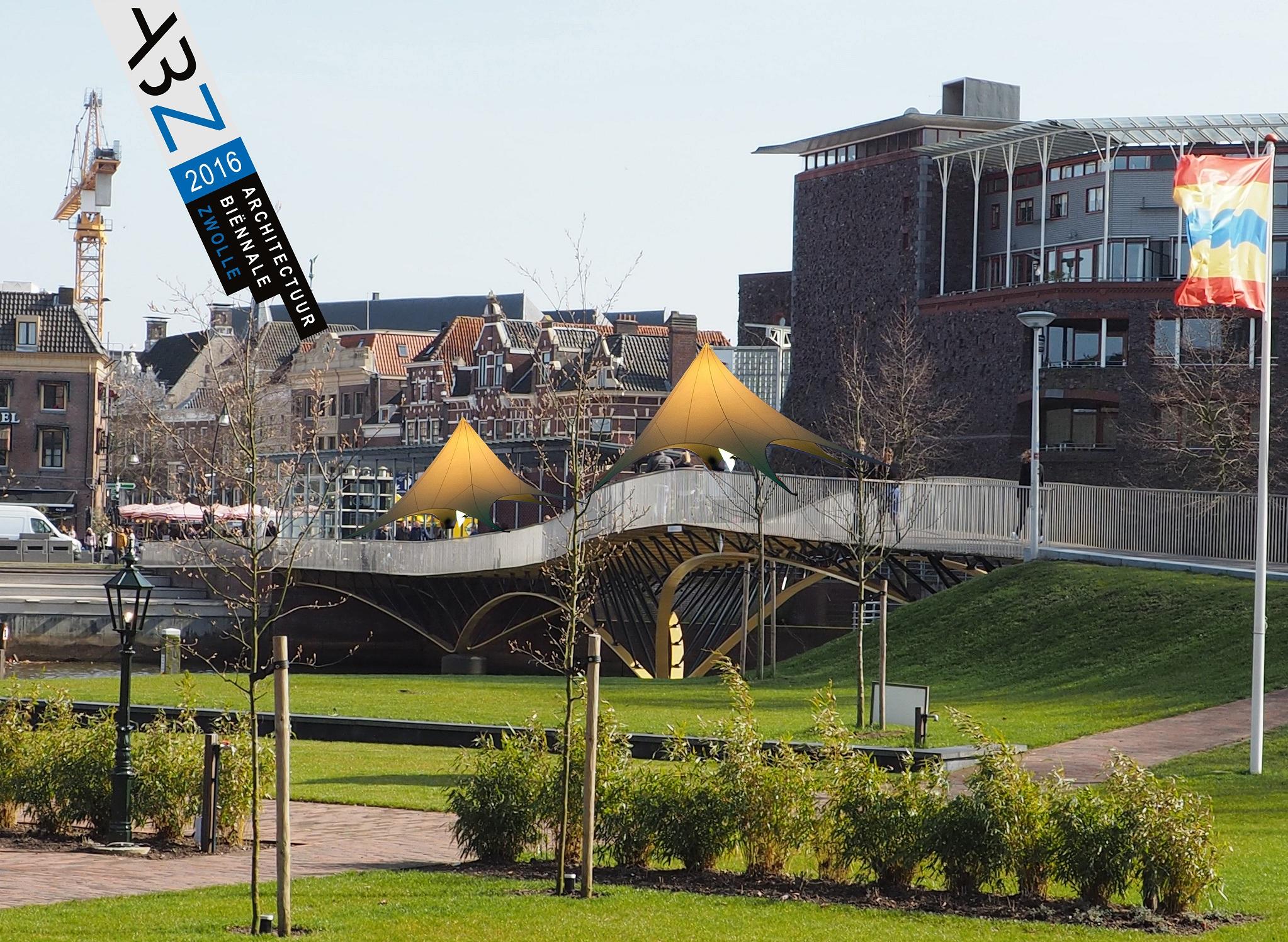 Onzichtbare brug Zwolle