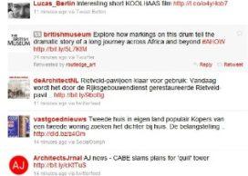 Twitter als redding voor architectuurkritiek?