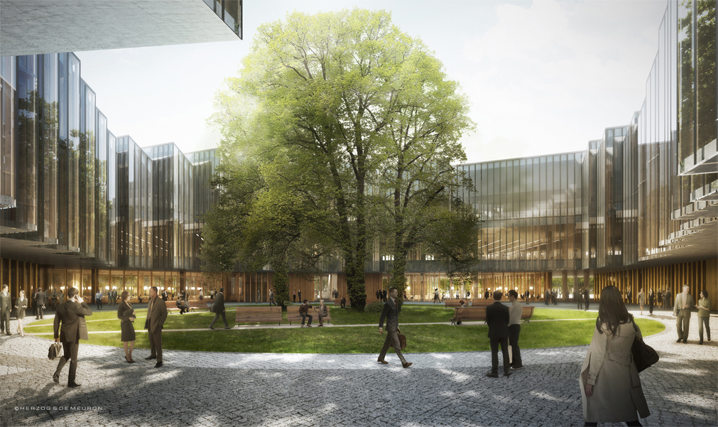 AstraZeneca Cambridge door Herzog & de Meuron