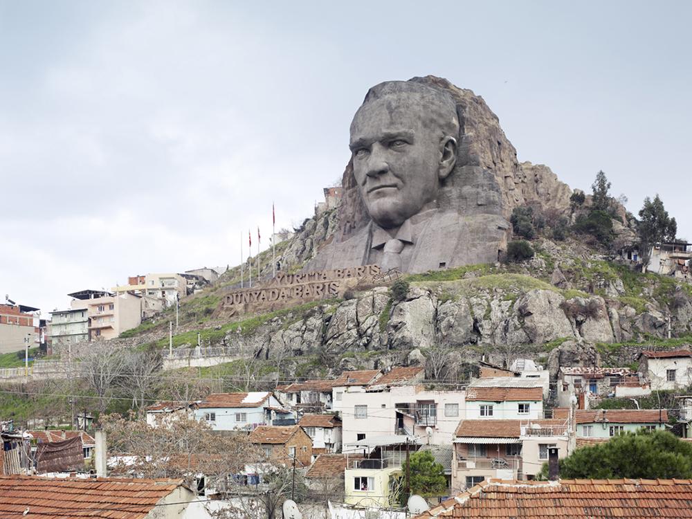 Ataturk Mask, Buca, Izmir, Turkey, 2009. Blog Jeroen Apers