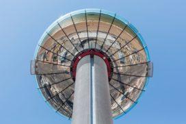 Grootste bewegende uitkijktoren binnenkort open