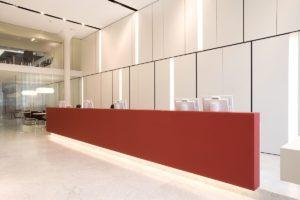 Kantoor Dewaele Vastgoed in Brugge door BURO Interior en Antoine Dugardyn