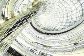 Hanjie Wanda Square in Wuhan opgeleverd