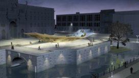Monument Berlijn niet op tijd klaar