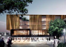 Ontwerp Bibliotheek Christchurch bekend