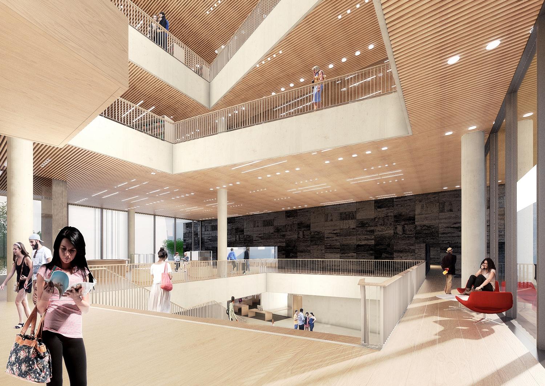 Bibliotheek Christchurch Nieuw Zeeland door Schmidt Hammer Lassen en Architectus
