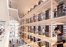Mecanoo presenteert eerste impressies van Mid-Manhattan bibliotheek in New York