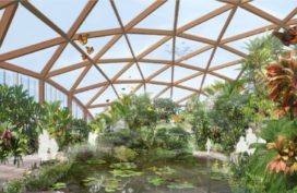 Amazonica Dome Blijdorp Rotterdam klaar voor gebruik