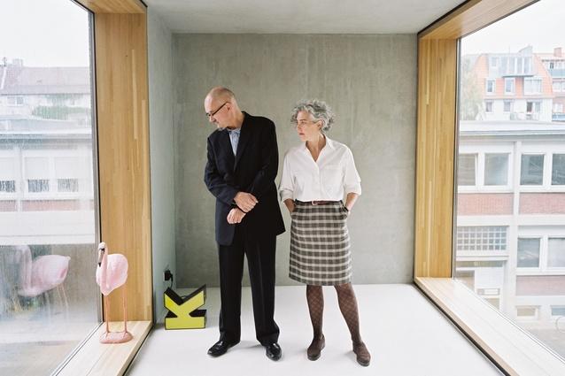 Peter Wilson met echtgenote Julia Bolles-Wilson