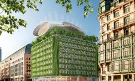 Render Ster van de Week – Vincent Callebaut's Botanisch Centrum Brussel