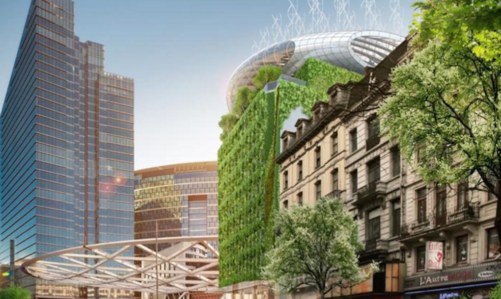 Botanisch Center door Vincent Callebaut Brussel Render Ster van de Week