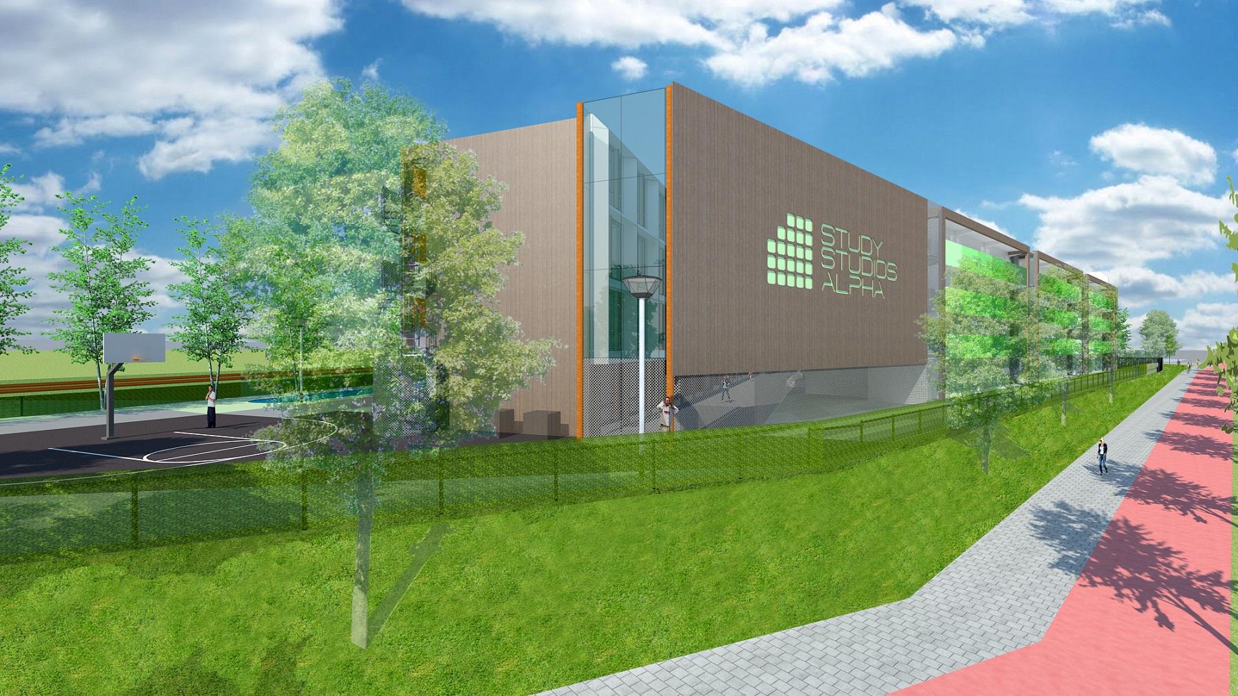Breda Campus Study Studio Park door BB Architecten