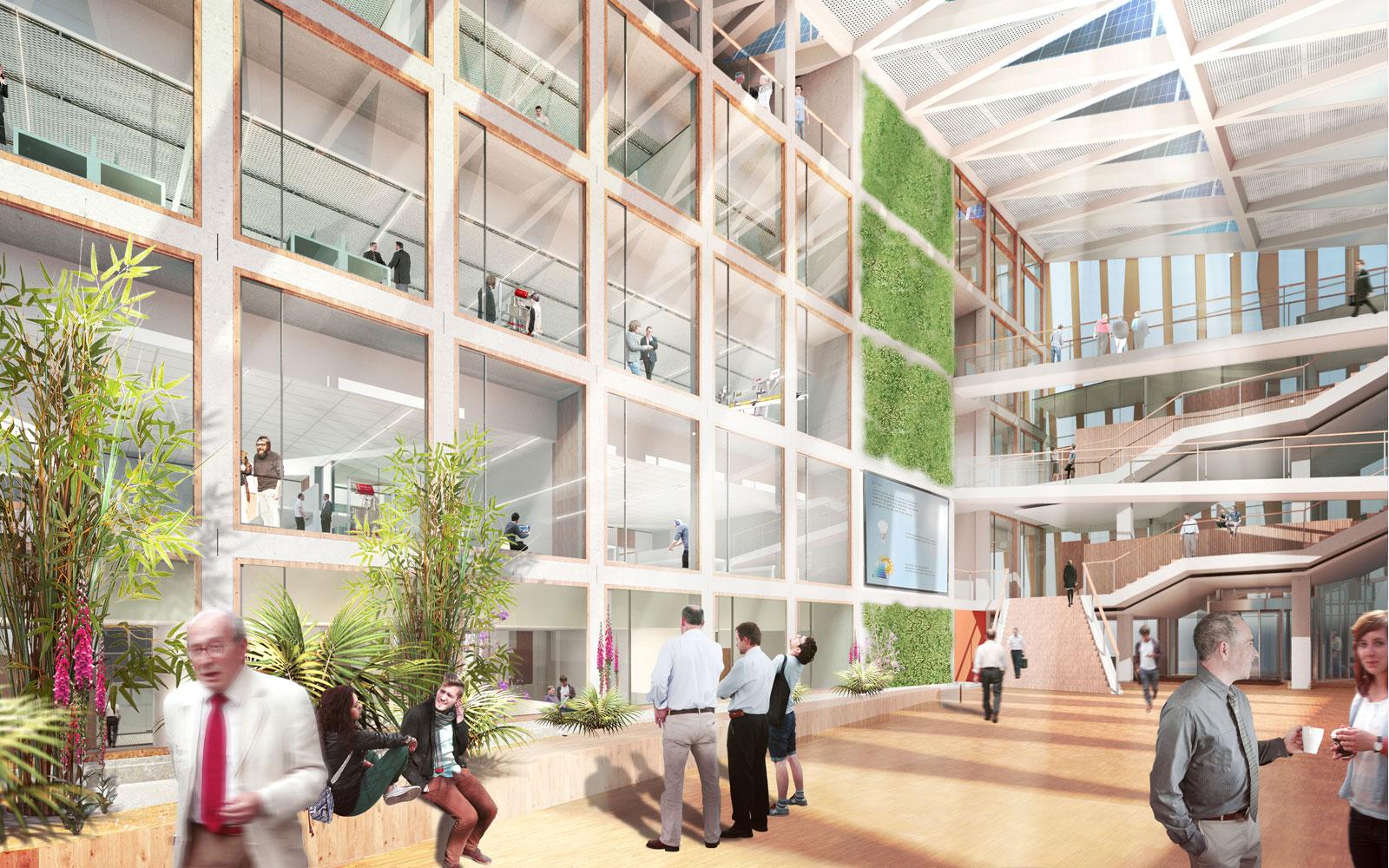 Bouwstart Energy Academy Broekbakema en pvanb architecten