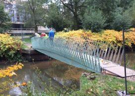 Bio-based brug in Eindhoven