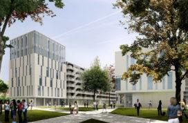Conix ontwerpt nieuwe campus VU Brussel